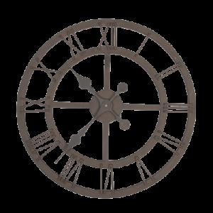 zegar naścianę metalowy